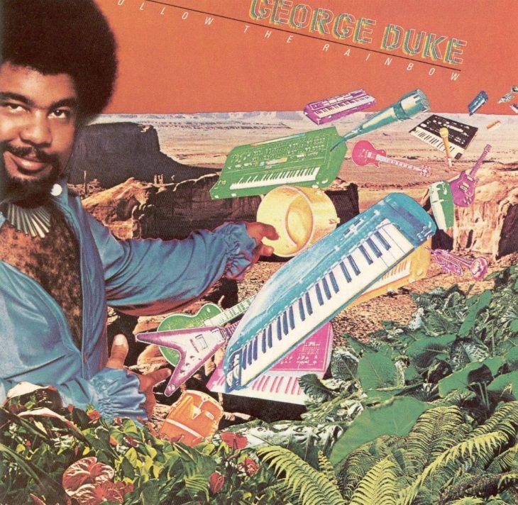 George Duke Follow the Rainbow LP Cover