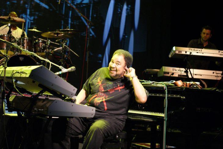 George Duke Performing on Keyboard 2010 by Peter Stračina 2