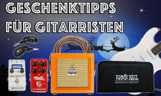 Geschenktipps für Gitarristen