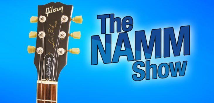 Gibson wieder auf der NAMM 2019