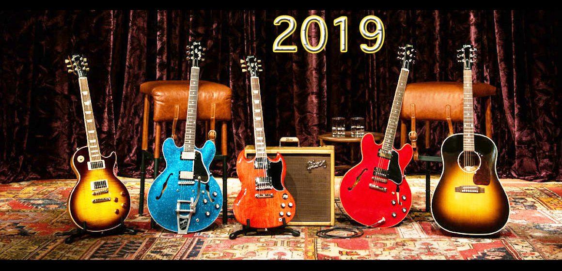 Top News: Gibson 2019 Modelle, E-Gitarren - AMAZONA.de
