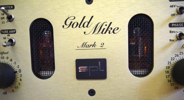 SPL goldmike MK2 tubes