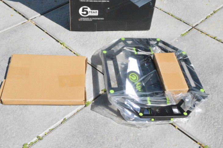 Das sit keine Drohne - das ist der Gravity GLTS01B im Auslieferungszustand
