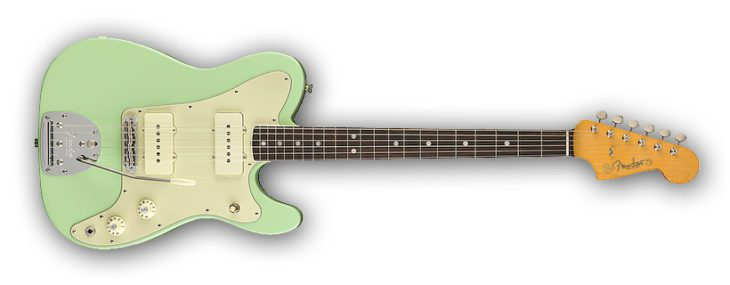Fender Limited Edition Jazz-Tele green