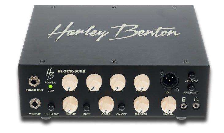 Harley Benton Block-800B front