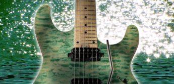 Test: Harley Benton Fusion-HH FR MN Aqua, E-Gitarre