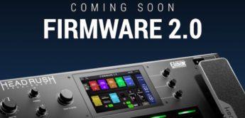 Top News: Headrush Firmwareupdate 2.0