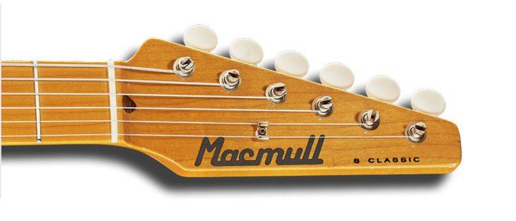 Macmull S-Classic headstock