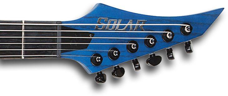 Solar Guitars A2.6T Headstock