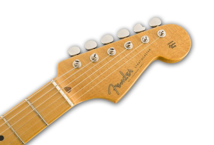 Fender Eric Johnson Thinline Strat headstock
