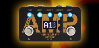 Test: Hotone Binary AMP, Gitarren Delaypedal