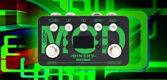Test: Hotone Binary Mod, Gitarren Multieffekt Pedal
