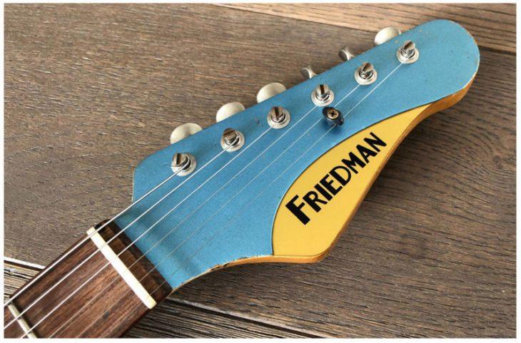Friedman Vintage-S Headstock