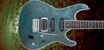 Test: Ibanez SA560MB-ABT, E-Gitarre