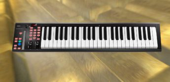 Test: Icon iKeyboard, USB/MIDI-Controllerkeyboard