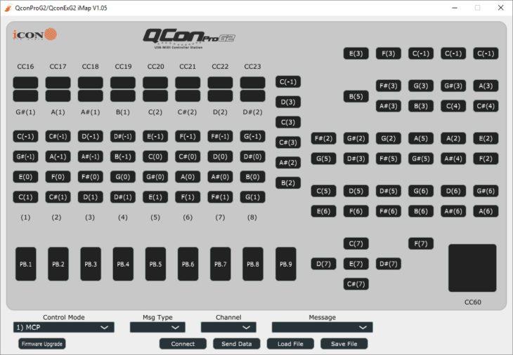 Icon Qcon Pro G2 iMap