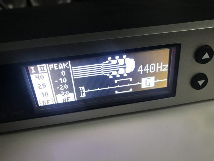 Sennheiser Evolution Wireless tuner
