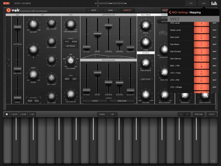 Volt MIDI-fizierung