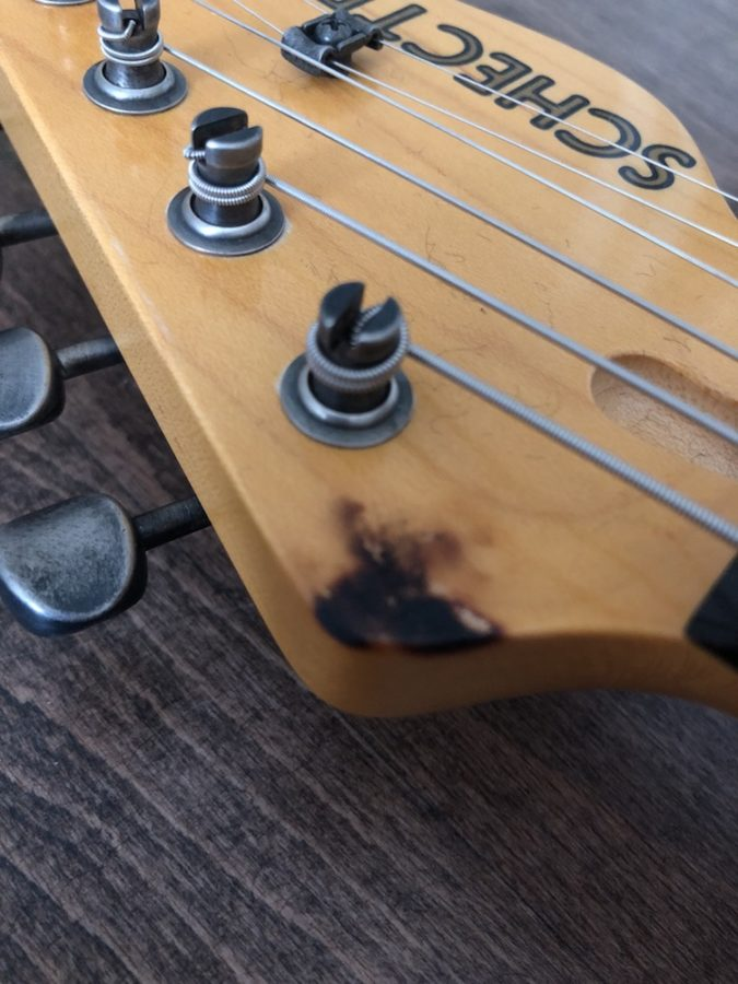 Schecter USA Custom Headstock