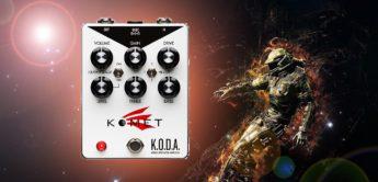 Test: Komet KODA, Gitarren Verzerrerpedal