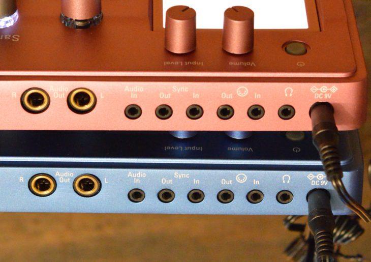 Identische Ein- und Ausgänge bei Electribe 2 und Electribe 2s