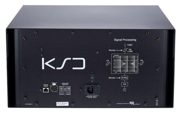 KS Digital C88-Reference - Rückseite