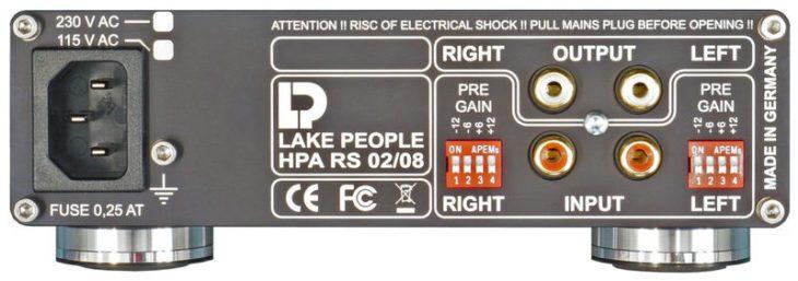 Lake People HPA RS 02 - Rueckseite