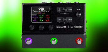 Top News: Line 6 HX Stomp, Gitarren Multieffekt Pedal