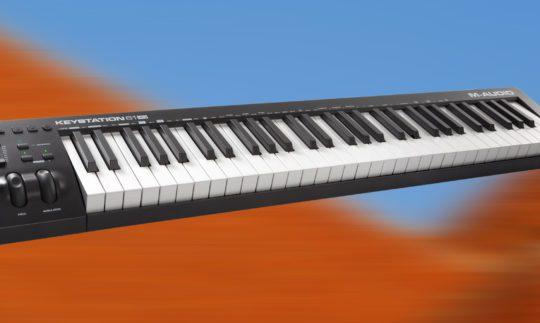 Test: M-Audio Keystation 61 MK3, 49 MK3, USB-Controllerkeyboard