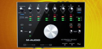 Test: M-Audio M-Track 8X4M, USB-Audio-MIDI-Interface