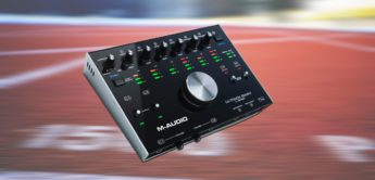 Top News: M-Audio M-Track 8x4M, USB-Audiointerface