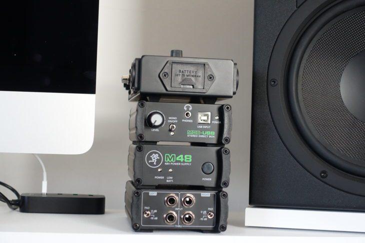 Mackie MDB-Serie, ein Stapel Gadgets