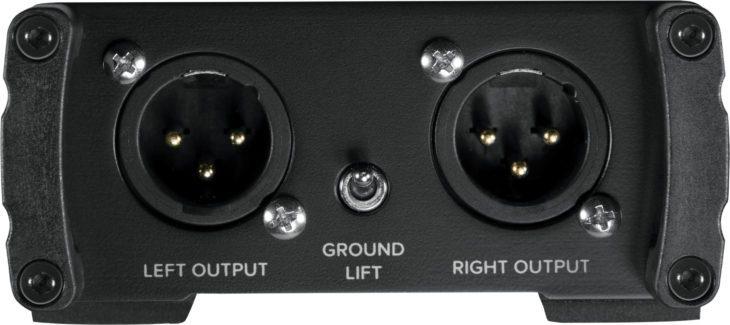 Mackie MDB-Serie, MDB-USB Rückseite