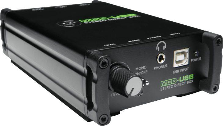 Mackie MDB-Serie, MDB-USB schräg links