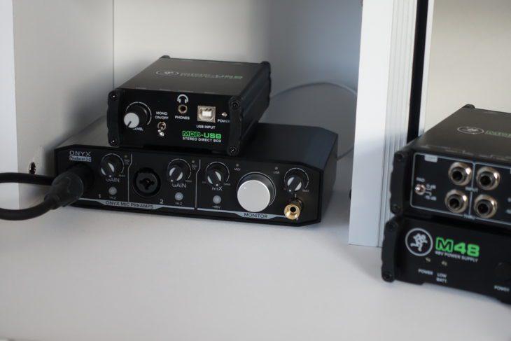 Mackie MDB-Serie, MDB-USB und ONYX Producer 2x2