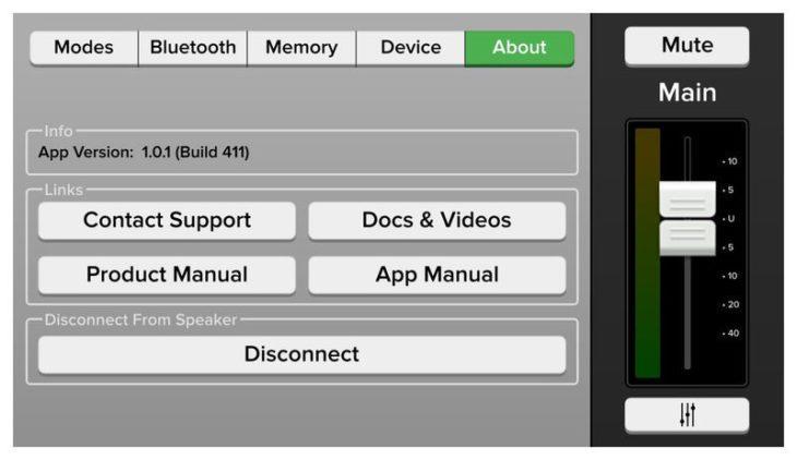 Mackie Thump 12BST App - Presets