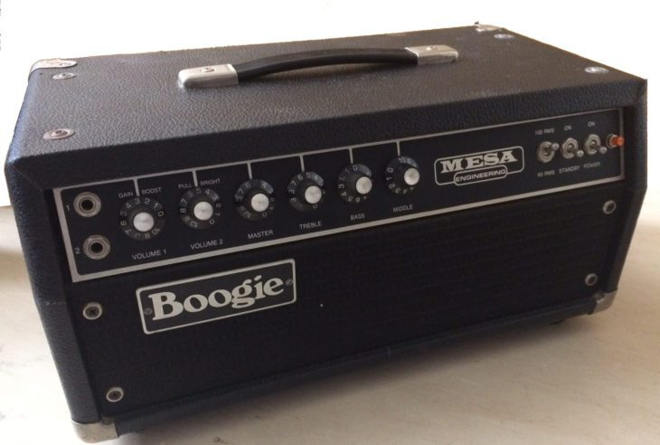 Mesa/Boogie Mark I top