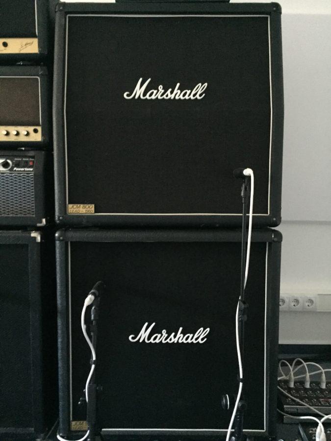 Marshall 412 Baujahr Achtziger