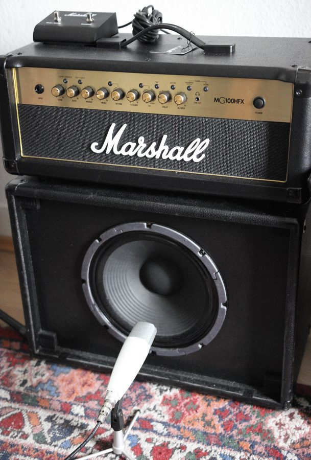 Marshall MG100HFX Gold-record