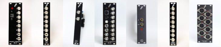 Die Expert Sleepers Module - eine Auswahl von Eurorack Moculen für die Anbindung an den Rechner