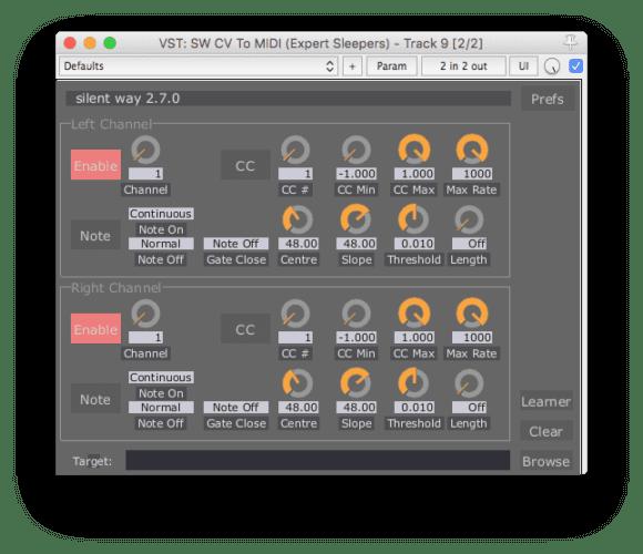 Hat man ein EIngangsmodul, wie das ES-7, kann man aus den CV-Signalen MIDI ableiten und so Eurorack und Racksynths in Einklang bringen