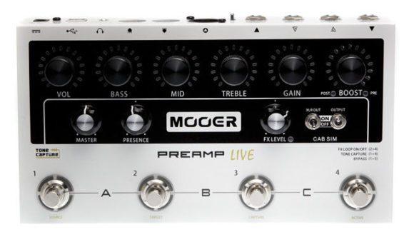 Mooer Micro Preamp Live