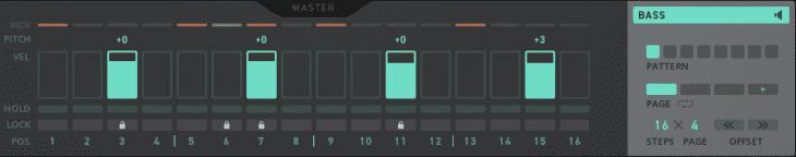 TRK-01 Bass-Sequencer