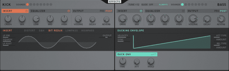 TRK-01 Ducking Env