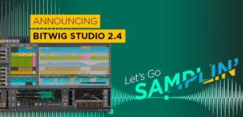 Top News: Bitwig 2.4, Digital Audio Workstation