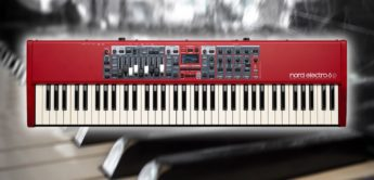 Test: Clavia Nord Electro 6, Stagepiano