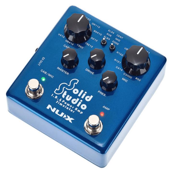 Nux Solid Studio IR & Pow Amp Sim schräg