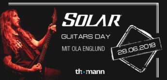 Top News: Solar Guitars Day bei Thomann