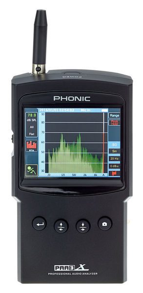 Phonic PAA3X Front