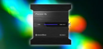 Test: Pioneer RB DMX-1, DMX-Interface
